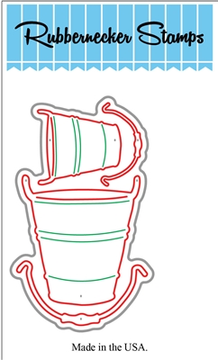 Tall Buckets Die Cut 5147-13D