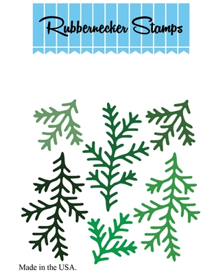 Greenery #1 Die Cut 5162-09D