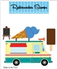 5202-03D Ice Cream Truck Die Cut