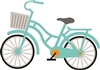 5209-01D Bicycle Die Cut