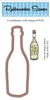 Wine Bottle Die Cut 639-03D