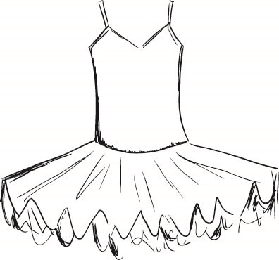ballerina skirt coloring page doctor coloring pages