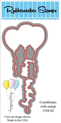 Birthday Balloons Die Cut 1104-02D