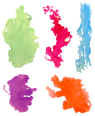 1227 Watercolor Background Set