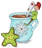 1254 Elf Stirring Cocoa
