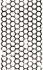 1311-01 Distress Hexagon Strip
