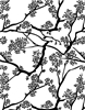 1350 tree branch background