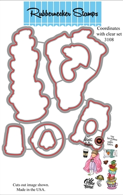 3108D Coffee Blanket Die set