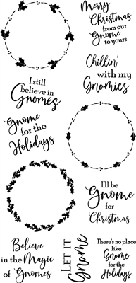 3322 Holly Circle Gnome Sentiment set