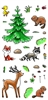 3324 Woodland Animals #1 Clear Set