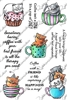 3409 Cats in coffee cups
