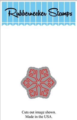 Small Snowflake Die Cut 5100-04D