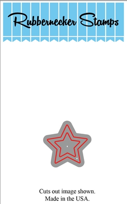 Small Star Outline Die Cut 5100-06D