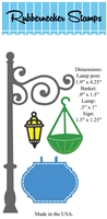 5163D Lamp Post w/ accessories Die