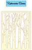 Birch Forest Die Cut 5167-01D
