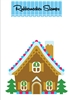 5179D Gingerbread House Die Cut
