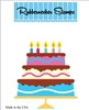 5202-02D Birthday Cake Die Cut