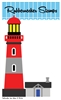 5202-05D Light House Die Cut