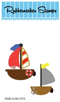5202-06D Boats #1 Die Cut