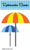 5212-02D Beach Umbrellas Die Cut