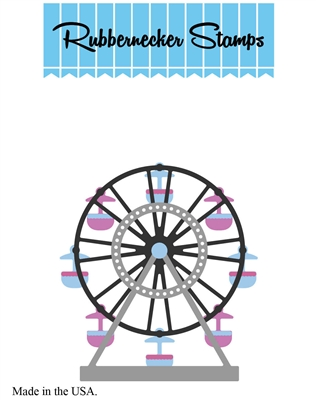 5213-02D Ferris Wheel Die Cut