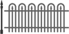 5215-07D Wrought Iron Fence Die