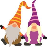 5217-09D Gnome Couple Die