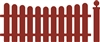 5314-05D Sloped Fence #5 Die