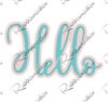 5406-05D Hello script w/ Shadow Die