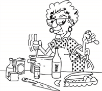 Ethel Cooking - 562-05
