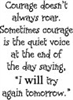 Courage Doesnt - 582-13