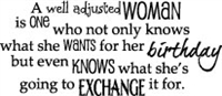 Well Adjusted Woman - 647-06