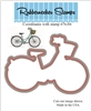 Island Bike 1 Die Cut 676-04D