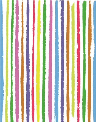 watercolor stripes - 690