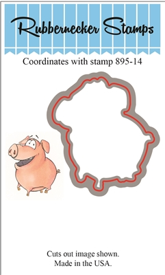 Happy Pig Die Cut 895-14D