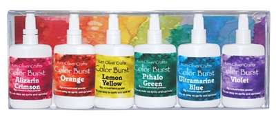 Color Burst 6 Pack Set Brights