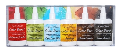 Color Burst 6 Pack Set Rich Moroccan Shades