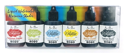 New Liquid Watercolor Moroccan 6 pack